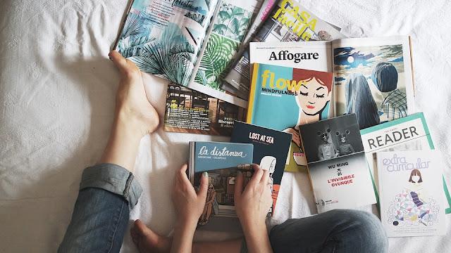 don vente troc recyclage de magazines que je ne lis plus minimalisme zero dechet