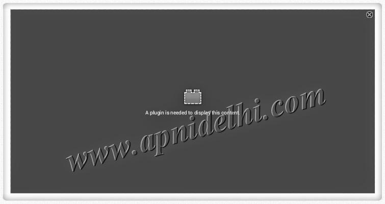 Delhi Metro Plugin Error