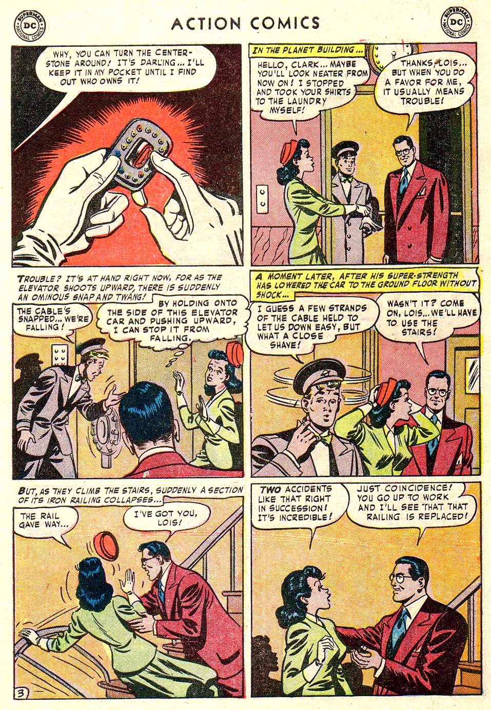 Read online Action Comics (1938) comic -  Issue #172 - 5