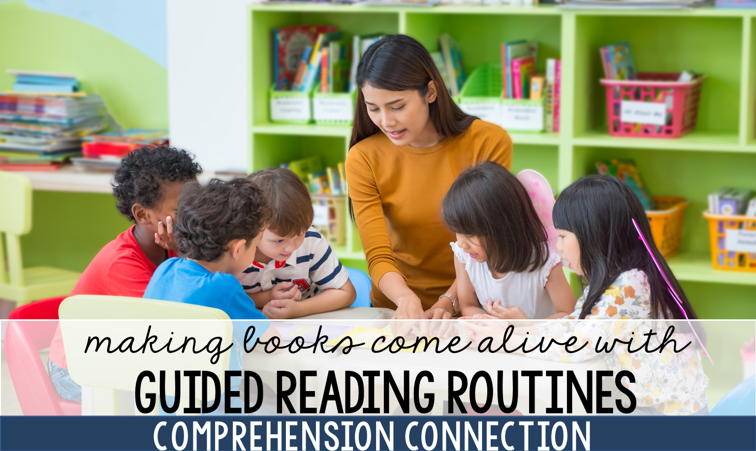 Guided reading is how we help children love to read. Seize the opportunity with these five best practices.