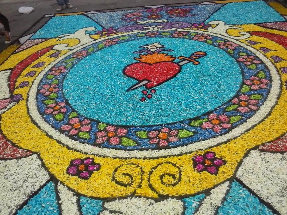 Jazmines del naranjal en blog como se realiza una for Fotos de alfombras