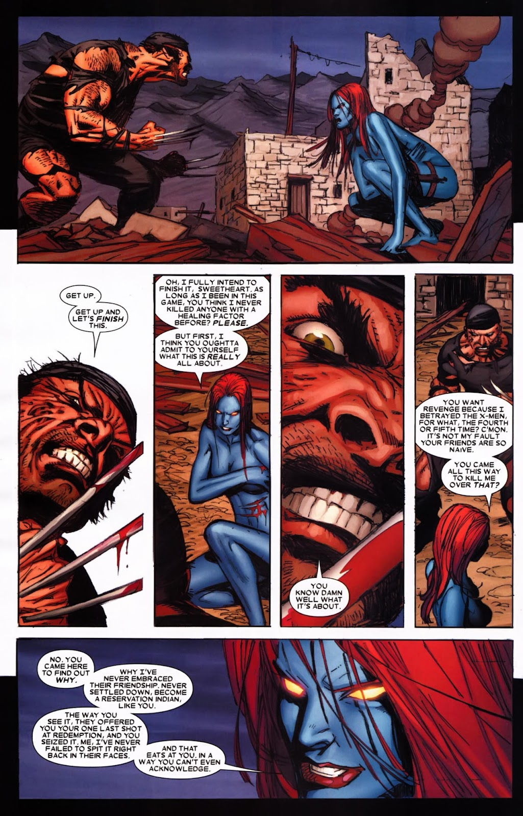 Read online Wolverine (2003) comic -  Issue #65 - 12