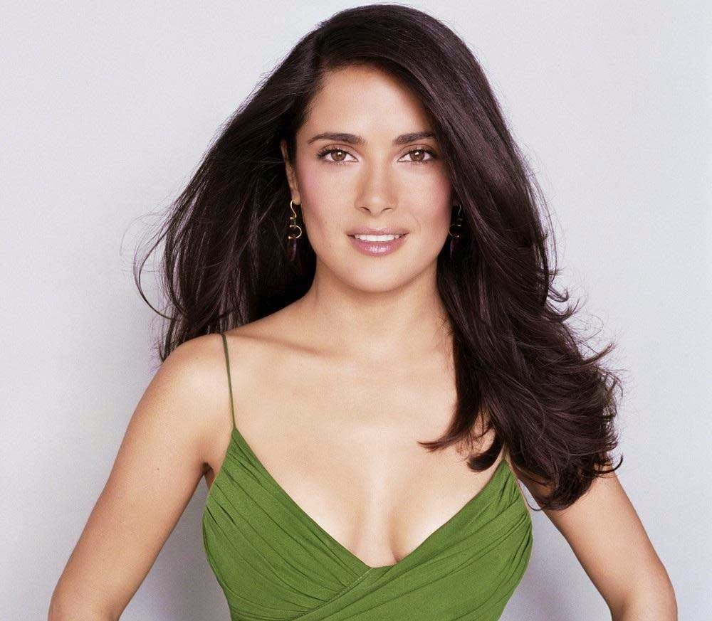 Salma Hayek Hot Wallpaper