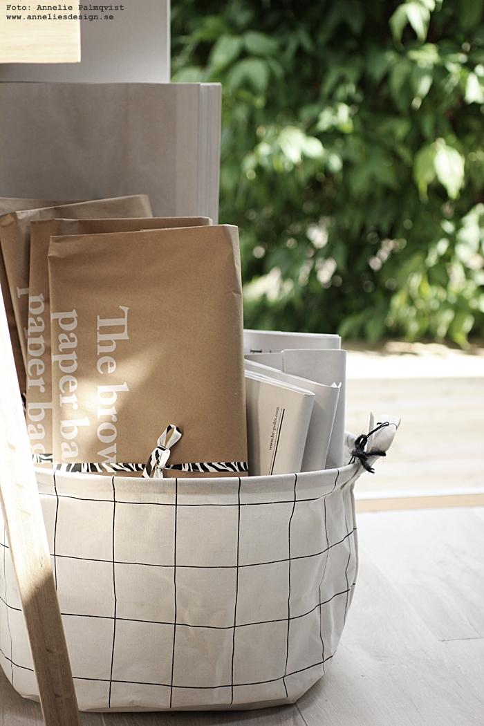 le sac en papier, annelies design, webbutik, webshop, nätbutik, varberg, inredningsbutik,