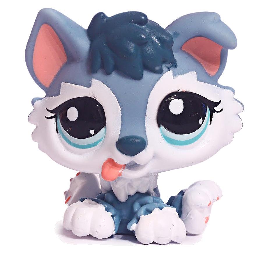 Littlest Pet Shop Small Playset Husky 2036 Pet Lps Merch