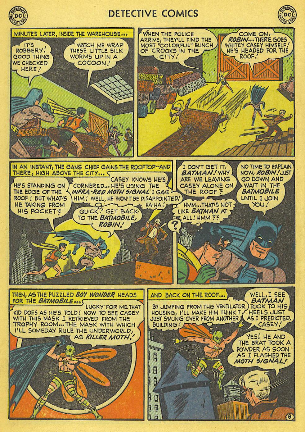 Read online Detective Comics (1937) comic -  Issue #173 - 11