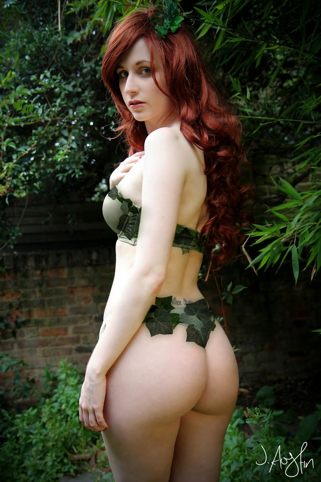 Poison Ivy A4 SIGNED POSTER