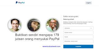 Membuat Akun Paypal, Memasukkan Rekening & Tarik Uang ke Bank
