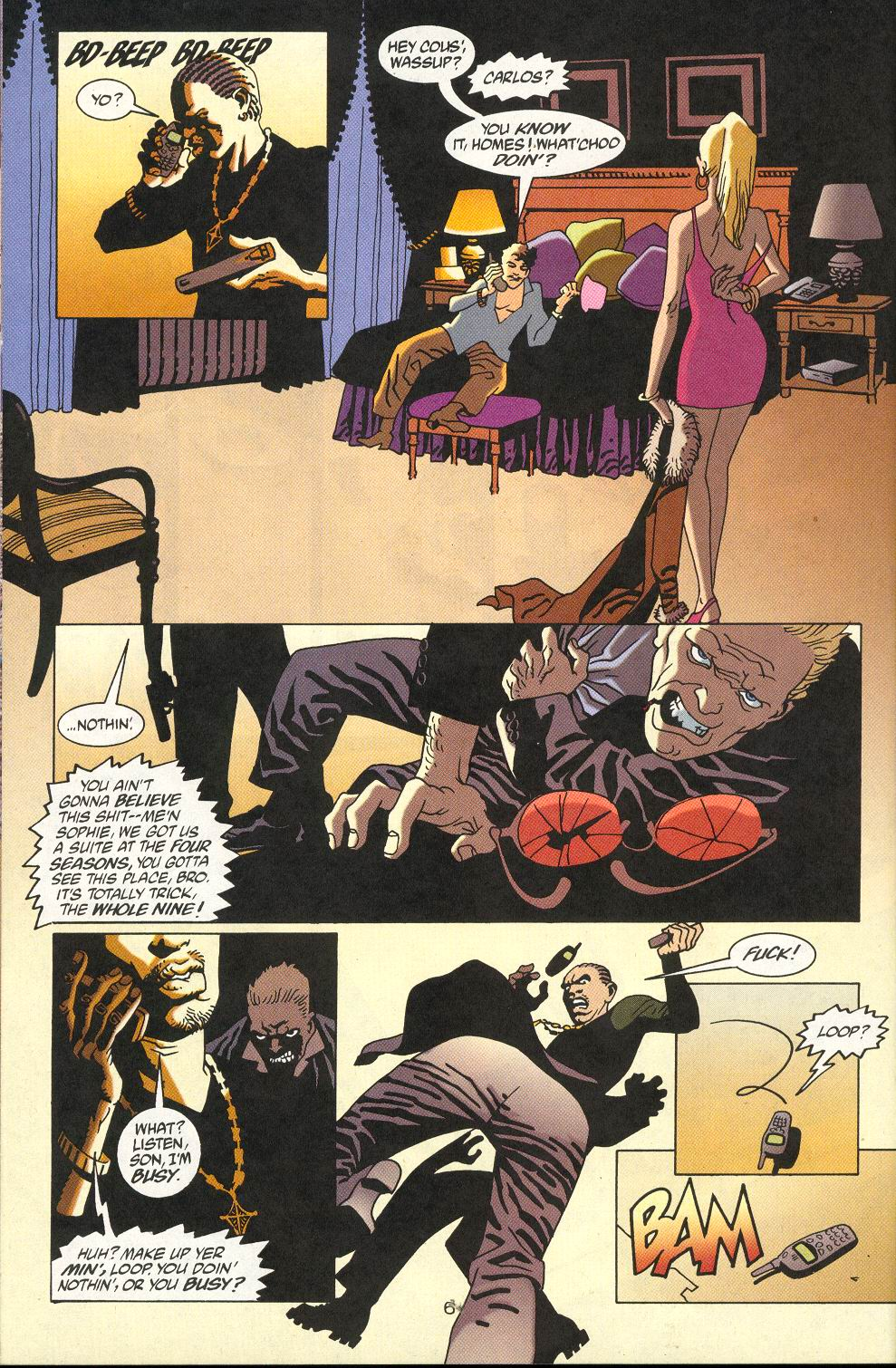 Read online 100 Bullets comic -  Issue #18 - 8