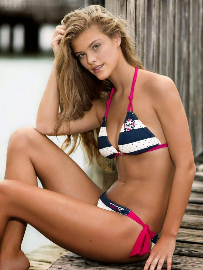 nina agdal bikini photo
