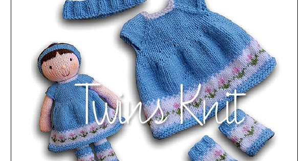 Twins Knitting Pattern MiniShop: Clothes for Knitted ...