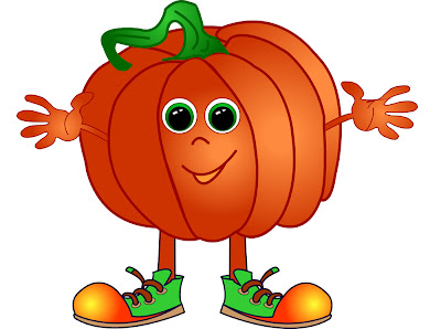 Pumpkin cute image, craft for kids