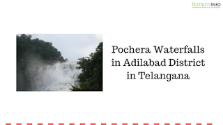 Pochera Waterfall in Adilabad District in Telangana