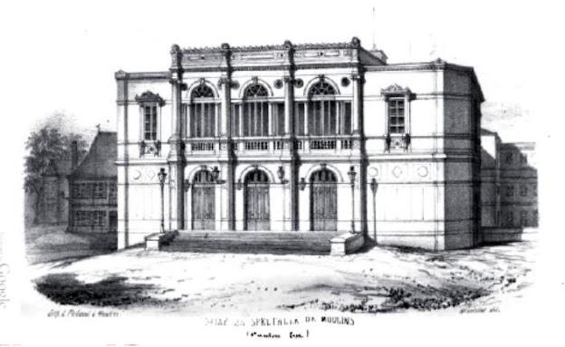 Patrimoine de l'Allier: salle de spectacles de Moulins