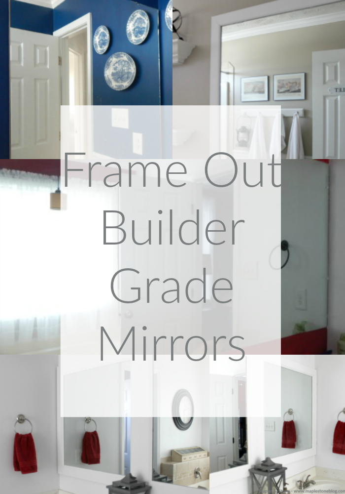 CRAFTS + D.I.Y | Framing Builder Grade Mirrors | MAPLES + STONE