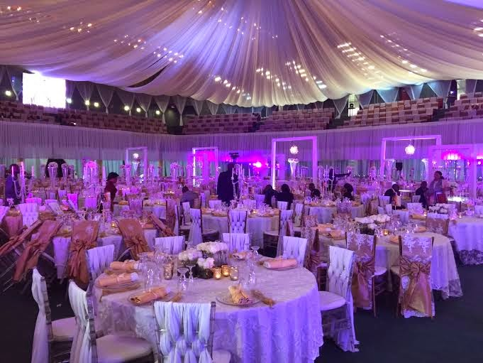 Pictures of president jonathans daughters wedding venue decoration president jonathans daughter ines wedding is happening right now today at the icc centre in abuja and here are exclusive photos of the decor handled by junglespirit Choice Image