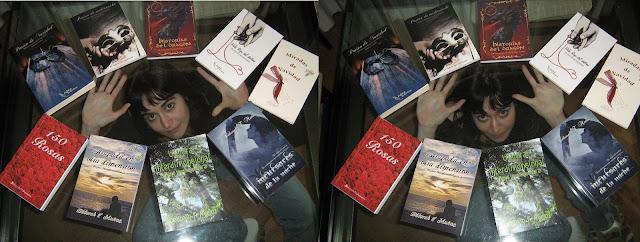 foto friki con mis libros