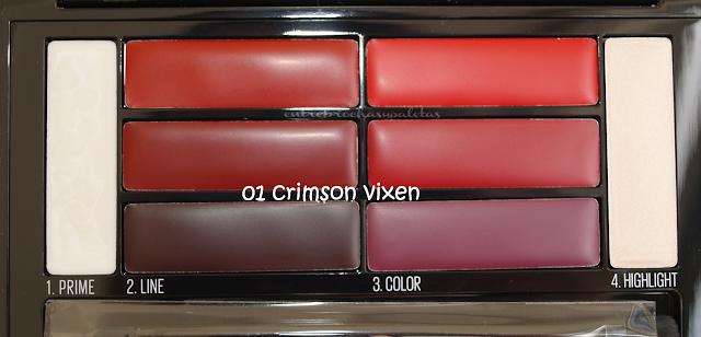 lip contour palette maybelline crimson vixen
