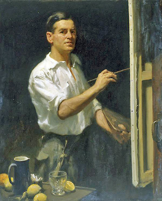 William Beckwith McInnes, Self Portrait, Portraits of Painters