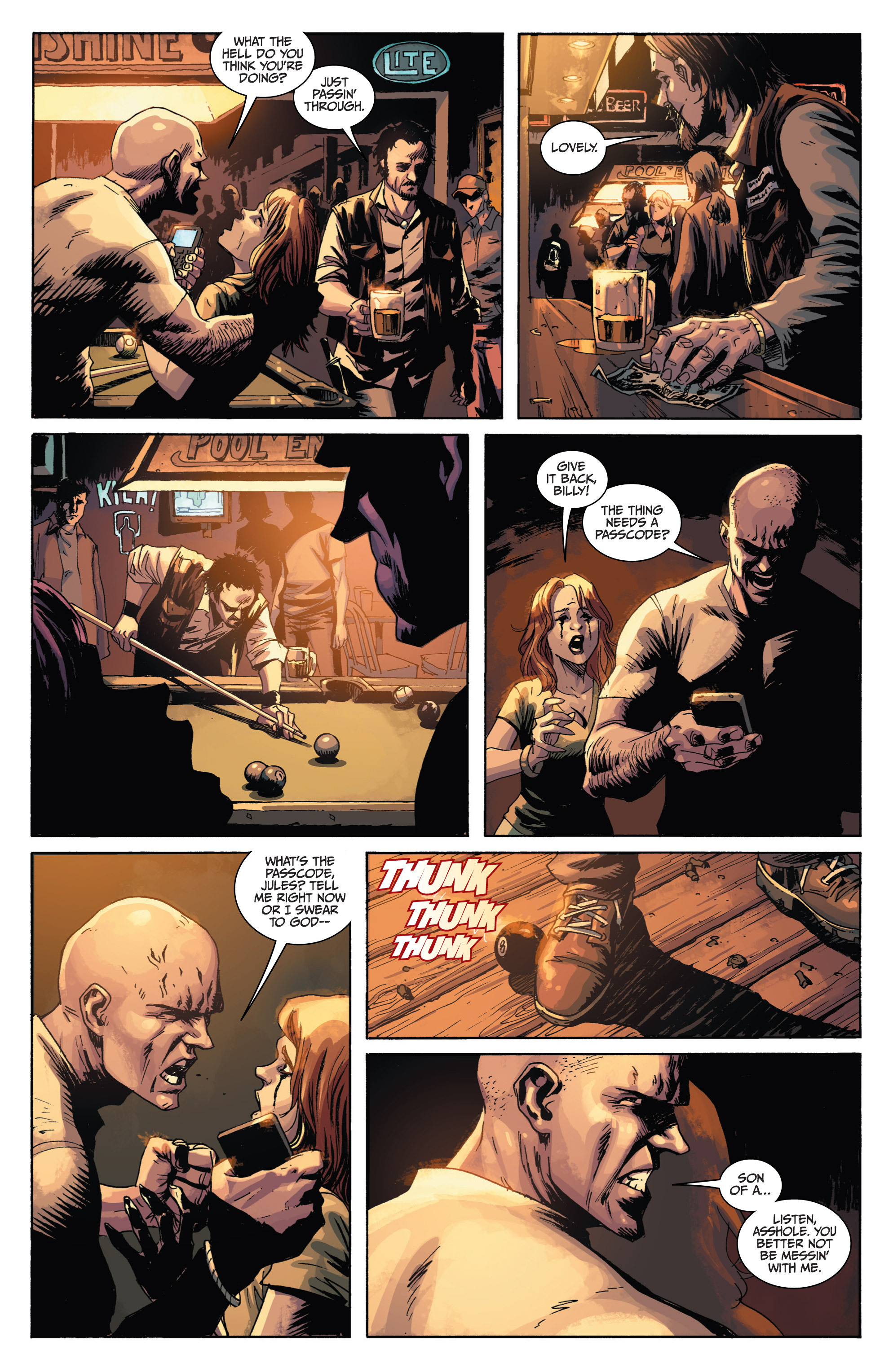 Read online Sons of Anarchy comic -  Issue #1 - 13