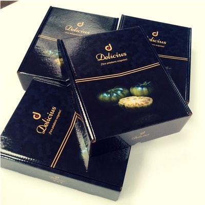 packaging cajas gourmet