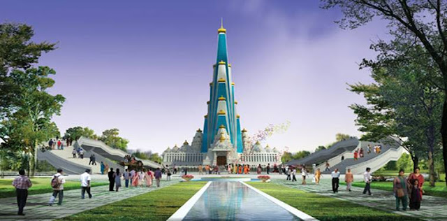 दुनिया का सबसे बड़ा मंदिर, अब बनेगा भारत में , जिसके आगे बुर्ज ख़लीफ़ा भी होगा फेल।