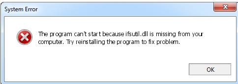 Télécharger Ifsutil.dll Fichier Gratuit Installer