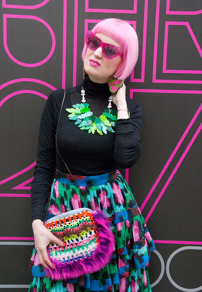 kenzo skirt, blogger look, tropical fashion