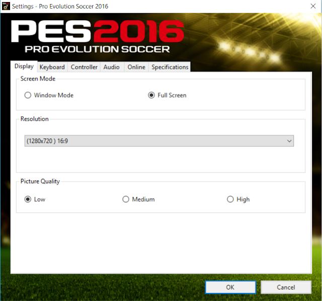 Gameplay PES 2016 Lag Fix