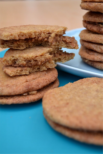 Snickerdoodles with Maple Pecan Filling