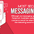 Top 6 Most Secure Messaging Apps for Android and iOS [Infographic]