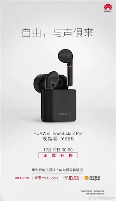 Newest Huawei FreeBuds 2 Pro Bone Conduction Earbuds Launched: Price, Features