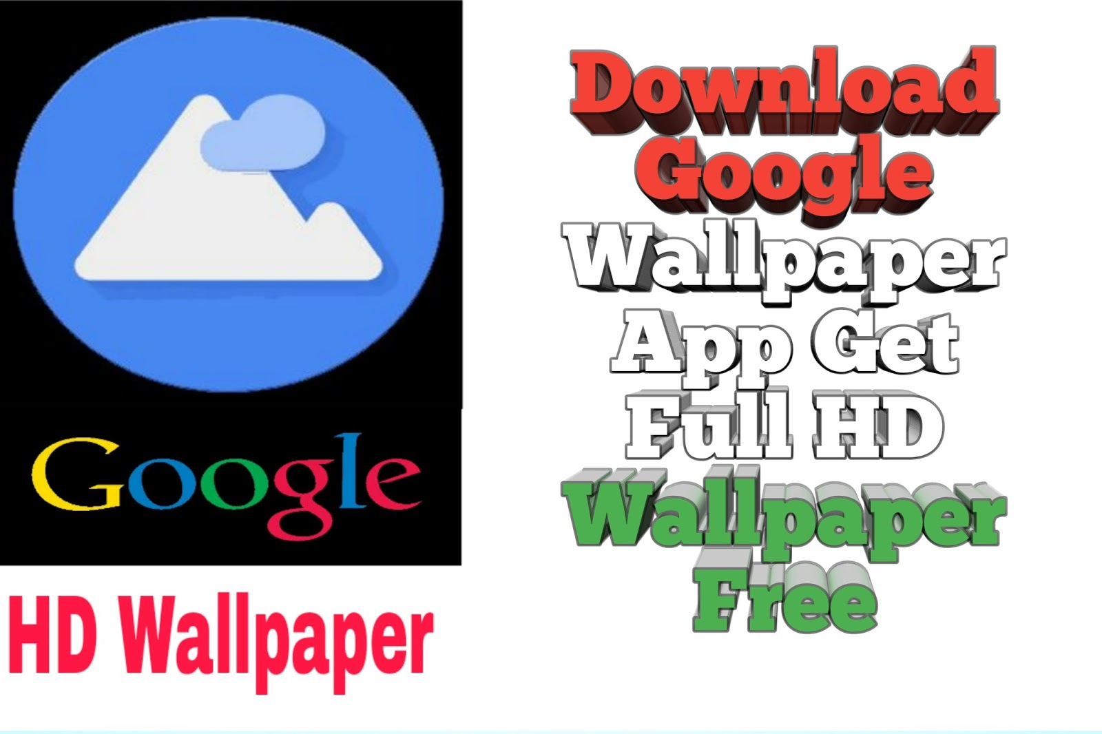 How to install Google wallpaper app
