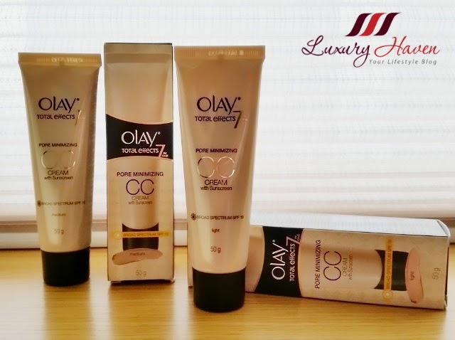 olay total effects cc cream blogger review