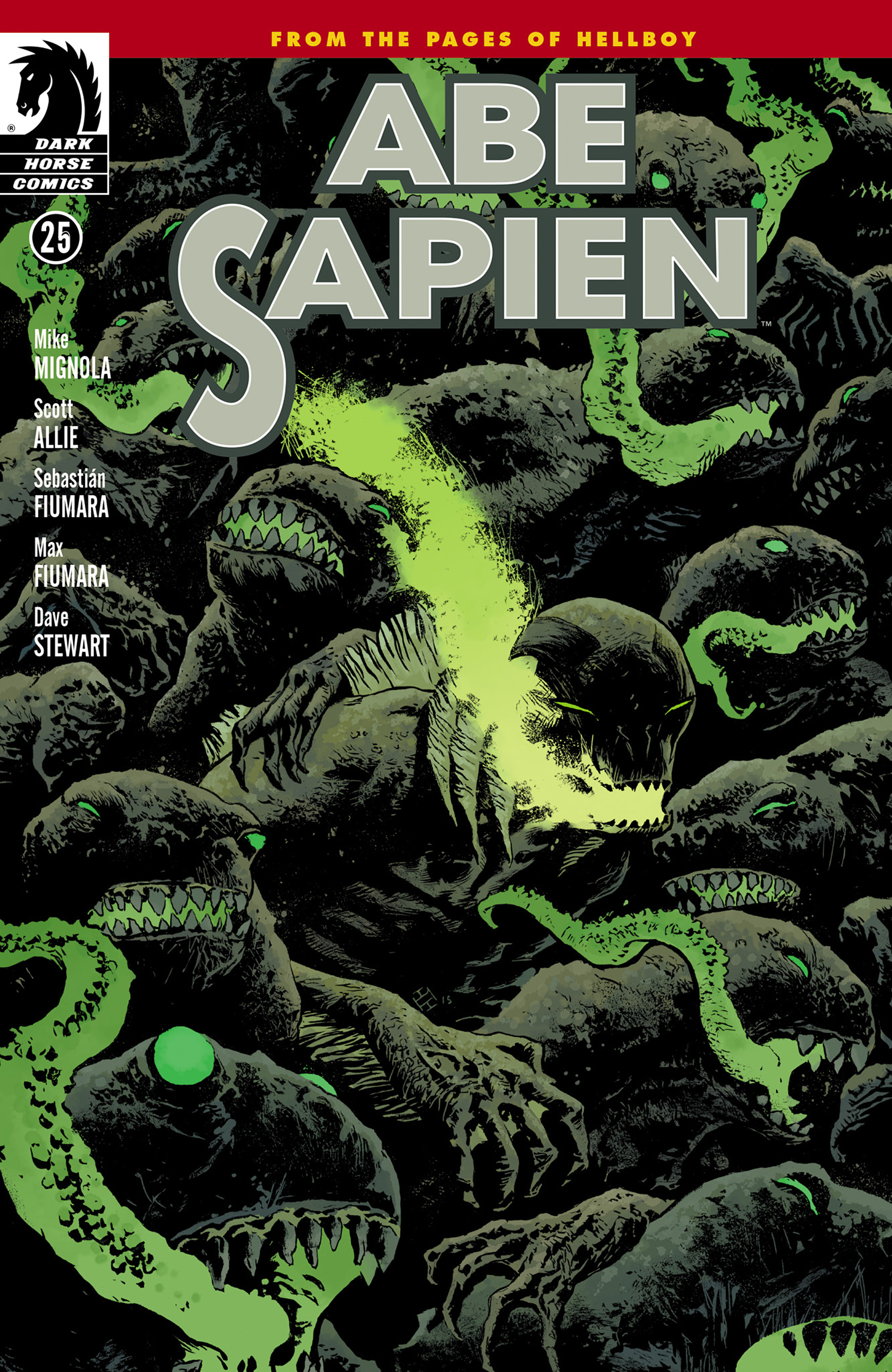 Read online Abe Sapien comic -  Issue #25 - 1