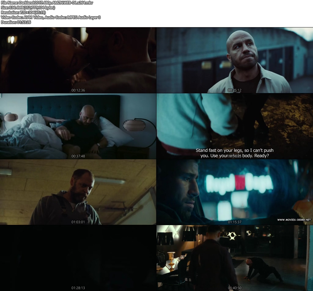 Darkland 2017 480p AMZN WEB-DL 300MB x264 Screenshot