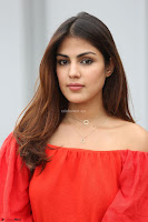 Rhea Chakraborty in Red Crop Top and Denim Shorts Spicy Pics ~  Exclusive 316.JPG