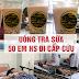 Hàng loạt học sinh ngộ độc sau khi uống trà sữa