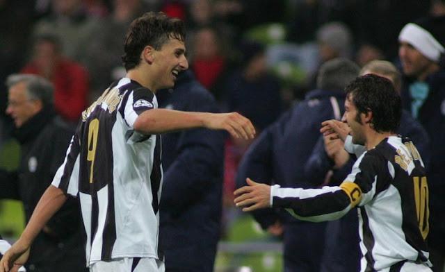 Tentang Zlatan Ibrahimovic yang mendaku amat menghormati Alessandro Del Piero