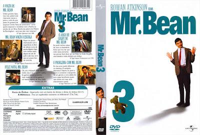 Série Mr. Bean 3º Temporada DVD Capa
