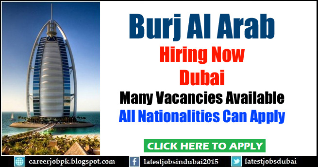 Burj Al Arab careers and job vacancies in Dubai
