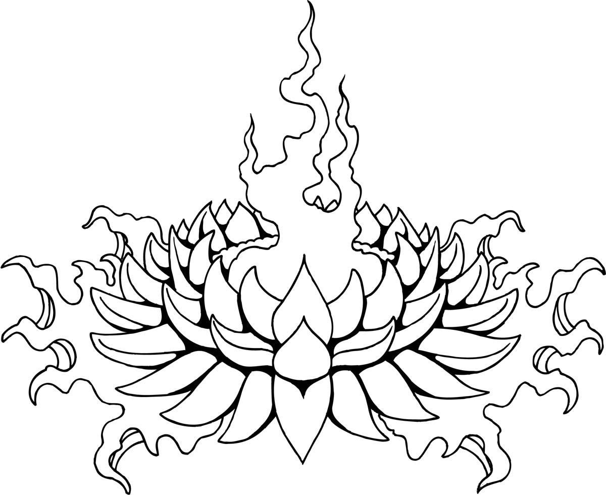 Tattoo Aztec Designs Lotus Flower Tattoo Stencils Large Forearm