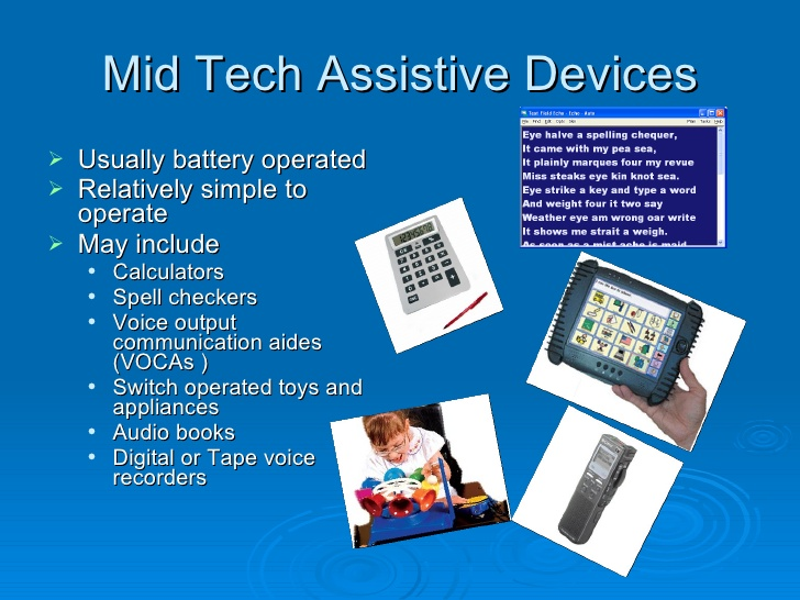 Assistive Technology What Is Assistive Technology