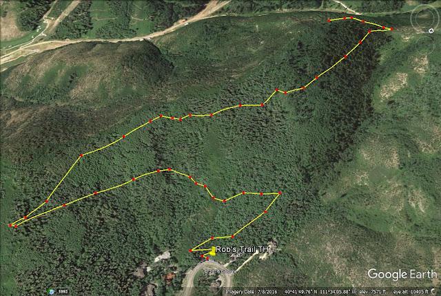 Rob's Trail trail map
