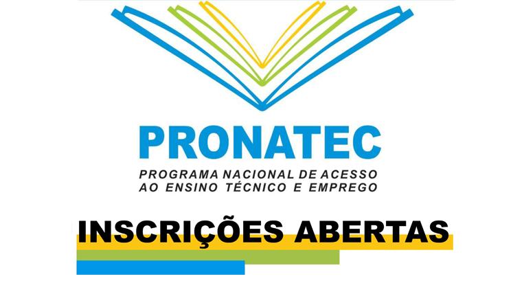 Cursos Pronatec 2018 -  Cursos técnicos profissionalizantes gratuitos