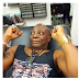 Cossy Ojiakor Shares A Photo Of What Looks Like Charlyboy's Pierced Testicle (Graphic Photo)