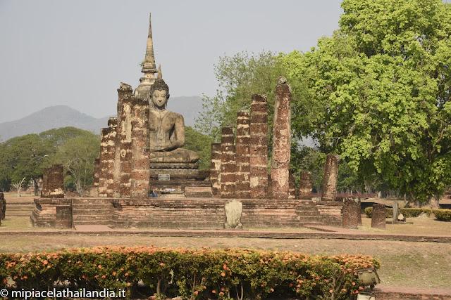 Wat Mahathat, Sukhothai - ubosot