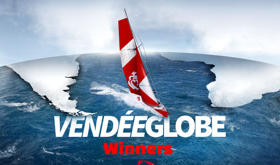 Vendée/vendee Globe,  yacht Race, podiums,  Past Winners-Champions History, list.