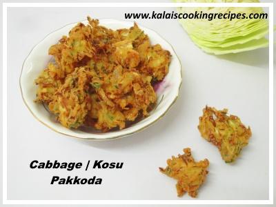 cabbage Kosu Pakkoda