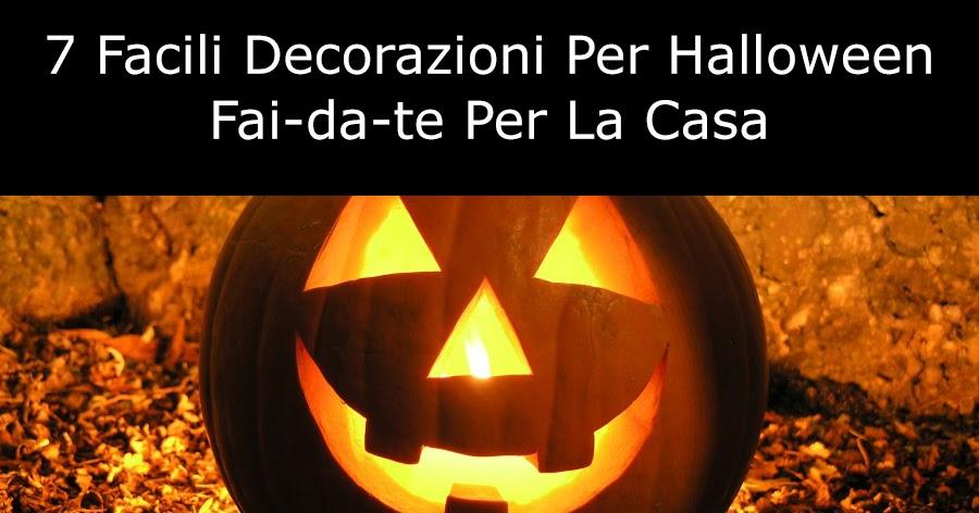 7 facili decorazioni per halloween fai da te per la casa - Halloween decorazioni ...